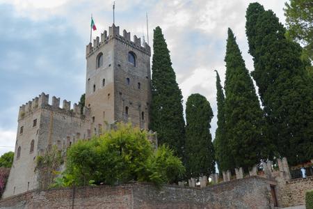 ancient castle of Conegliano Veneto