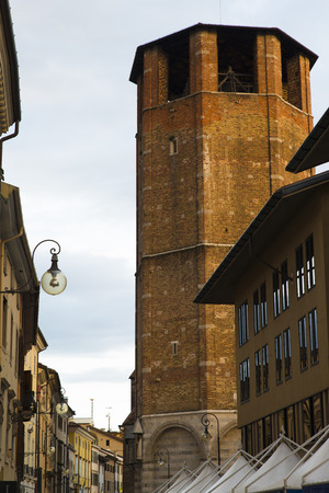 clock of the moors: Details of the historical center of Udine