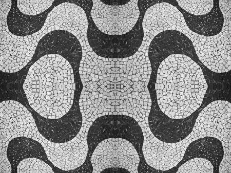 portuguese stone pattern photo