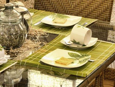 table set Stock Photo - 8152878