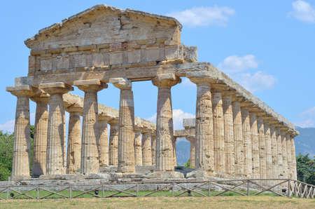 acropolis: Paestum Temple  12