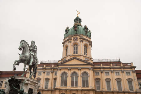 Charlottenburg - The Castle of Berlin   Germany  Stock Photo - 20316645
