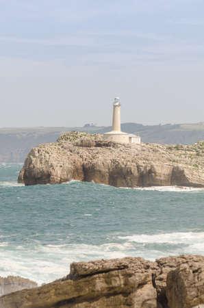 cantabria: Santander Coastlines Lighthouse. Cantabria North Spain