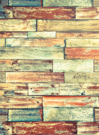 Vertical Frame Of Psychedelic Colorful Brick Wall Background.. Stock ...