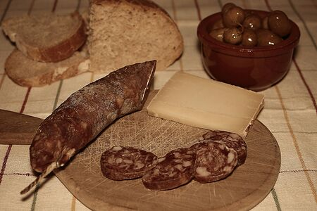 alte: Alte snacks Stock Photo