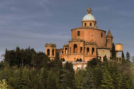 The Basilica of San Luca in Bologna