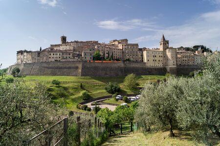 Panorama of the old Anghiari