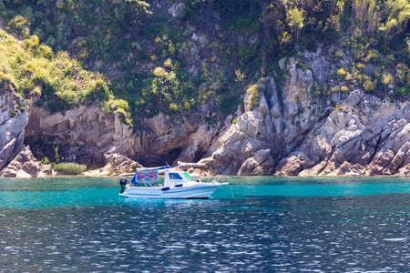 explore the coast of an island