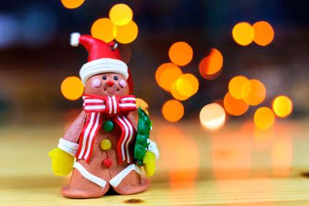 gingerbread man waiting next Christmas
