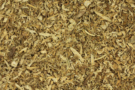 Dried tobacco leaves abstract background photo