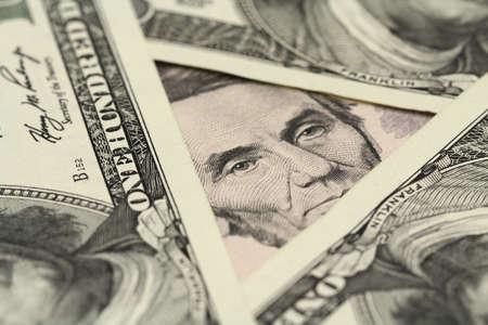 vijf dollar bill achtergrond