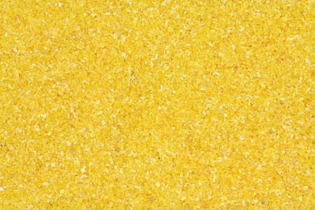 Yellow corn meal abstract background