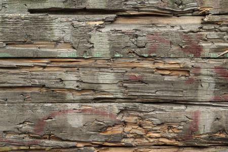 oude gebroken houten planken achtergrond Stockfoto
