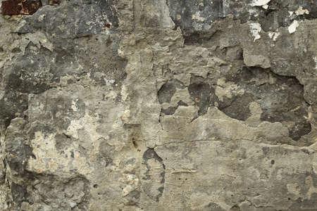 vernietiging van betonnen muur achtergrond