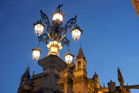 night of the seville cathedral