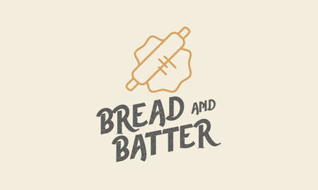 logo for bakery with bread dough