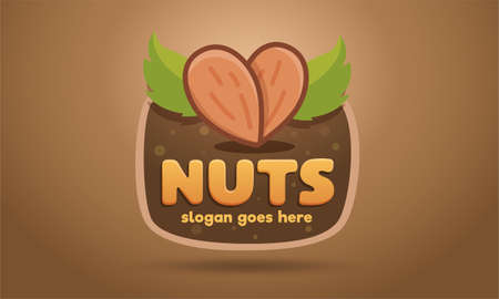 sign for sale of nuts or dried fruits