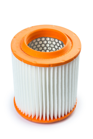 car filter close-up Stock Photo