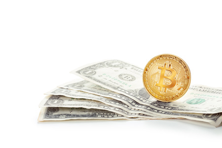 bitcoin network: Photo Golden Bitcoin