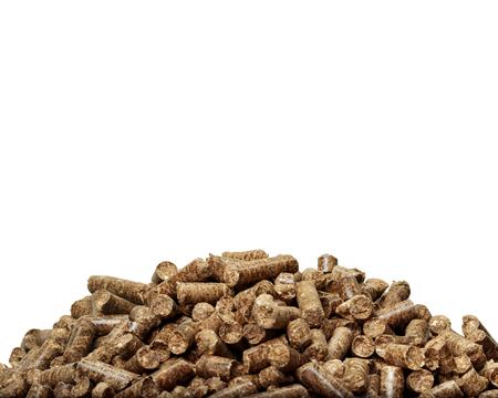 alternative energy sources: wooden pellets