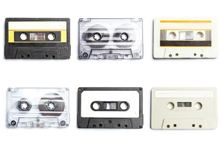 Collection de bandes audio rétro