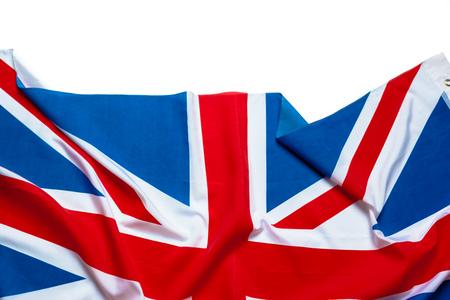 Flagge von Großbritannien, britische Flagge Standard-Bild