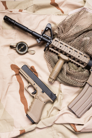venal: weapons and military equipment of special operations forces soldier