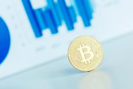 resplandor: Photo Golden Bitcoin