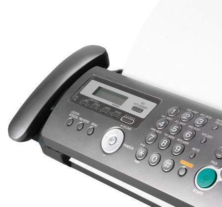 Telefon und Fax Standard-Bild
