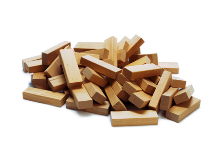 Building collapse games Stock Photo