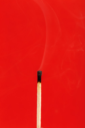 The faded match