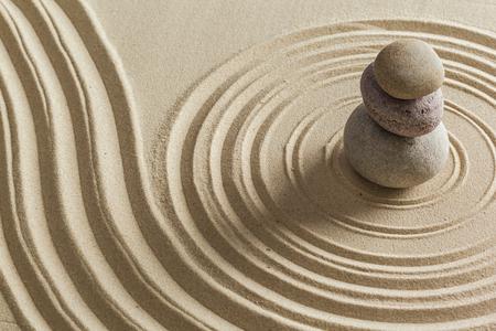 Zen Stein Garten