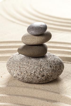 japanischer Garten Zen Stein