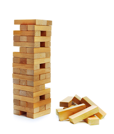 instability: Building collapse games Stock Photo