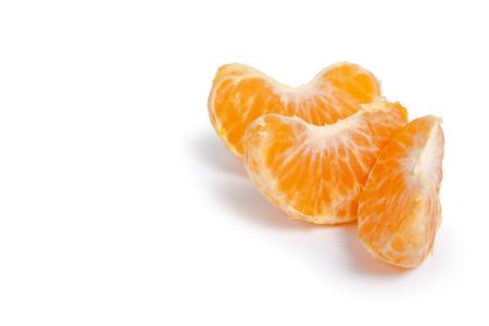 Mandarin isolé sur fond blanc Banque d'images - 78011968
