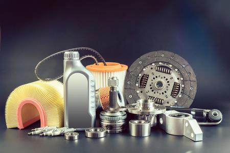 Auto onderdelen Stockfoto