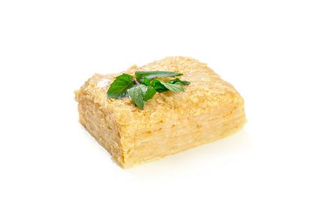 pie slice  isolated on white Stock Photo