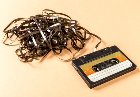 Old Audio Cassette Tape