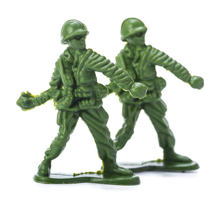 plastic soldier: Collection of traditional toy soldiers