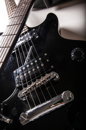 Electric guitar parts Stock Photo