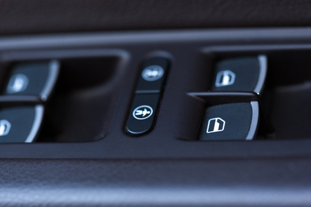 window view: electric window buttons