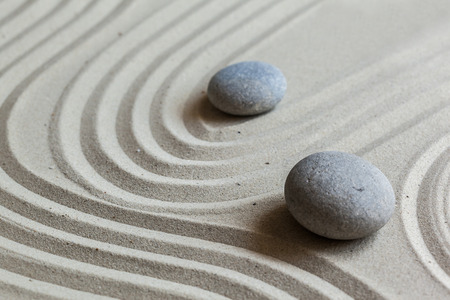 Zen Garten Steine