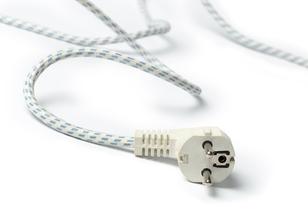 LEctrique fiche de câble de fer Banque d'images - 86149769