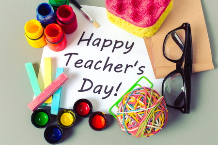 Teacher's day holiday. copy space Stock Photo - 86149879