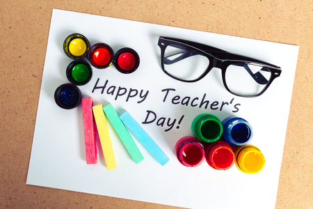 Teacher's day holiday. copy space Stock Photo - 86150004