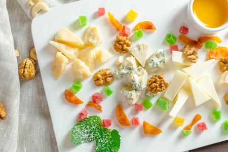 チーズプレート 写真素材