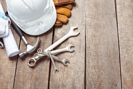 heavy industry: big set of construction tools Stock Photo
