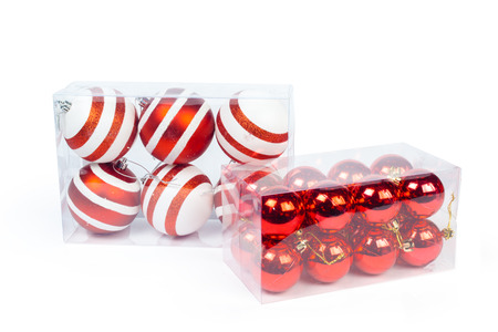 decorate: Christmas decoration isolated Stock Photo