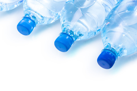 plastic bottle of water Stock Photo