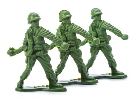 squad: Collection of traditional toy soldiers